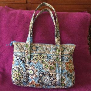 Vera Bradley Blue Floral Shoulder Bag